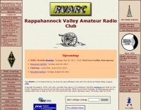 DXZone RVARC Rappahannock Valley Amateur Radio Club