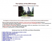 The Gallery of the EME Arrays.
