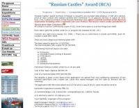 Russian Castles award
