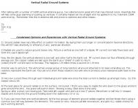 DXZone Vertical Radial Ground Systems