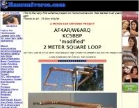 144 MHz square loop