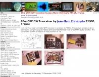 DXZone 80m QRP CW Tranceiver