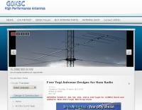 Free Yagi Antenna Designs  by G0KSC