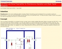 432 MHz EME PreAmplifier