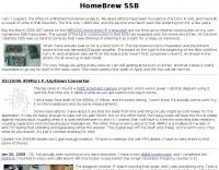 Home Brew HF SSB Transceiver