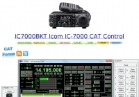 DXZone IC7000BKT Icom IC-7000 CAT Control