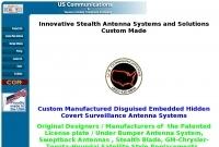 US Communication antennas