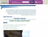 DXZone Outdoor 40 Meter Stealth Dipole