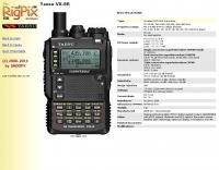 RigPix Database - Yaesu - VX-8R