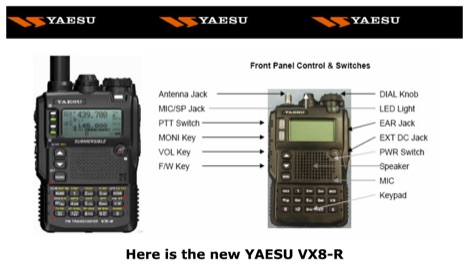 DXZone VA3QV's YAESU VX8-R Page