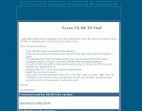 Yaesu VX-6R TX Mod