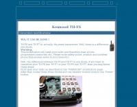 TH-F7 modifications