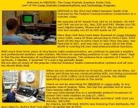 Camp Shohola Amateur Radio Club