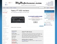 Yaesu FT-450 (AT) reviews
