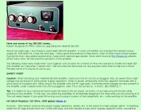 SB-200 Amplifier Rebuild Notes