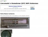 Homebrew WiFi Antennas