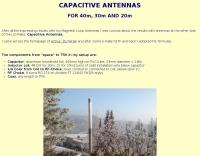 Capacitive Antennas