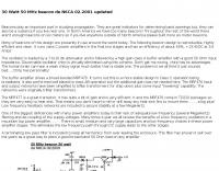 DXZone 50Mhz Beacon project