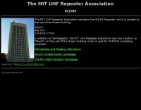 W1XM MIT UHF Repeater Association