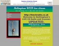 Nottingham UK Live Scanner