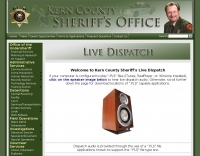 Kern County Sheriff's Live Dispatch