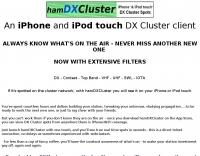 hamDXcluster for iPhone
