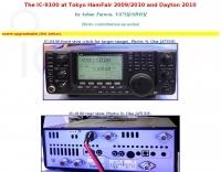 Icom IC-9100 at HamFair 2009
