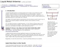 Liquid Metal Antenna