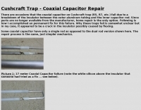 Cushcraft Trap - Coaxial Capacitor Repair