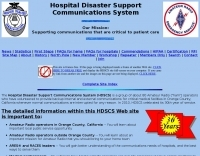 HDSCS Hospital Disaster Support Communications System