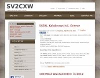 SV2CXW Blog