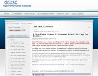 17 elements  144 MHz Plus2 LFA Yagi
