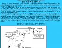 DXZone 6L6 Transmitter