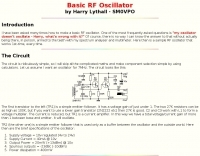 DXZone Basic RF Oscillator
