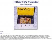 40 Meter QRP Transmitter