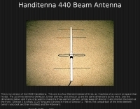 Handi-tenna 440 Beam Antenna