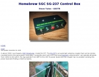 Homebrew SGC SG-237 Control Box