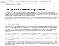 The Optimum 6 Element Yagi-Antenna