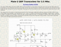 QRP Transceiver for 3.5 Mhz