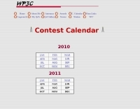 WP3C Contest Calendar