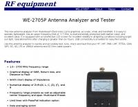 WE-030A Antenna Analyzer