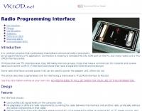 Radio Programming Interface
