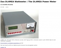 DXZone DL4MEA Wattmeter