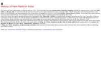DXZone History of Ham Radio in India