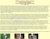 Antenna Rotator Project