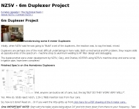 6m Duplexer project