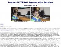 DXZone KE5PBW  Regenerative Receiver