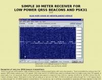 30 Meters receiver