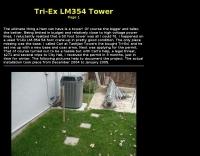 Tri-Ex LM354 Tower Setup