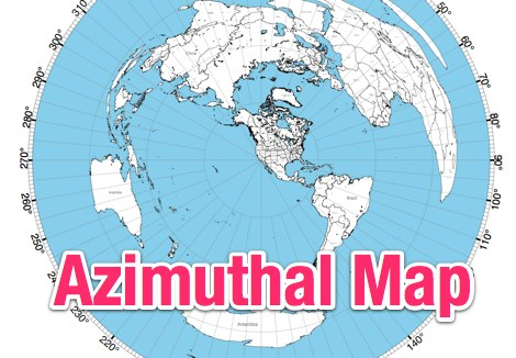 NS6T's Azimuthal Map